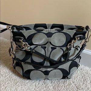 Coach authentic hobo bag